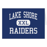 Lake Shore Raiders Middle Mequon Wisconsin Cards