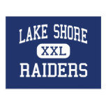 Lake Shore Raiders Middle Mequon Wisconsin Postcard