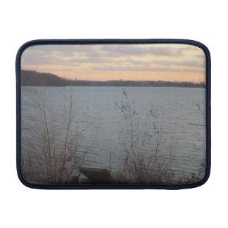 Lake Shore Sunset Macbook Air Sleeve