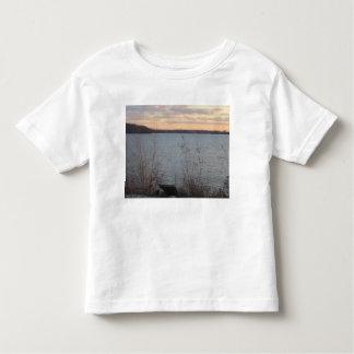 Lake Shore Sunset Toddler T-Shirt