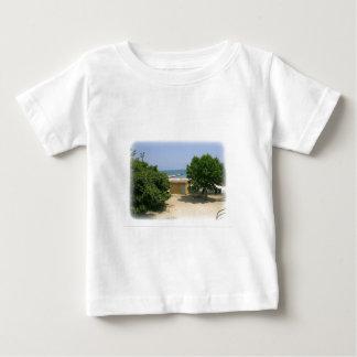 Lake Shores Getaway with White Matte Baby T-Shirt