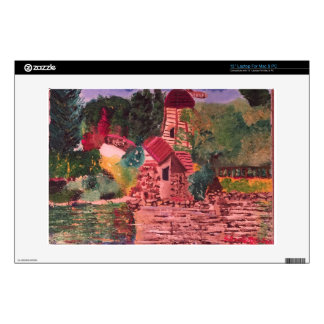 Lake Shrine Laptop Skin