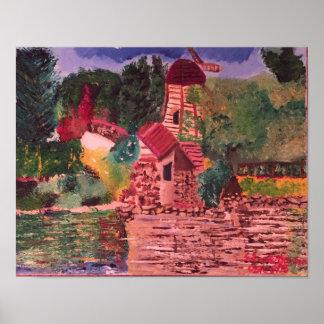 Lake Shrine Poster
