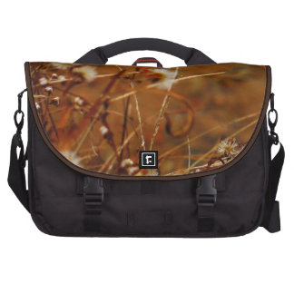 Lake side Cream Dried Flowers Computer Bag