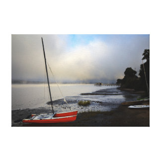 Lake side of Inverness Canvas Print