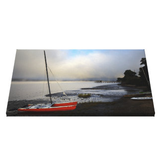Lake side of Inverness Canvas Print 23x15