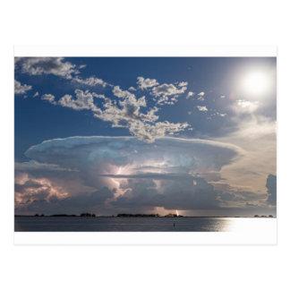 Lake Side Storm Watching.jpg Postcard