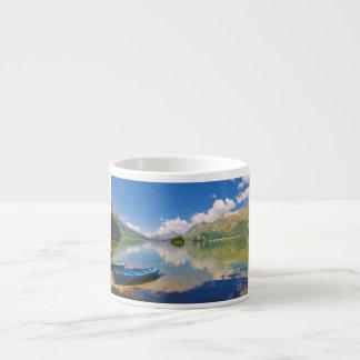 Lake Sils, in Graubünden, Swizerland Espresso Cup