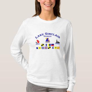 Lake Sinclair GA Signal Flags T-Shirt