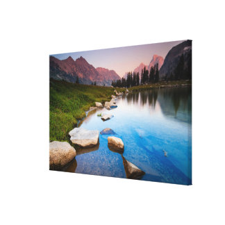 Lake Solitude Stretched Canvas Prints