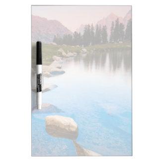 Lake Solitude Dry-Erase Board