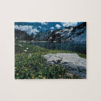 Lake Solitude , Grand Teton National Park , Jigsaw Puzzle
