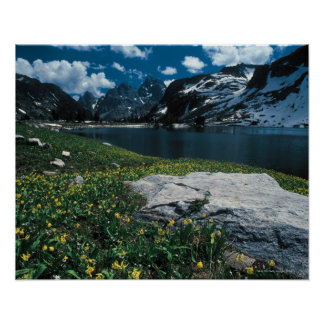 Lake Solitude , Grand Teton National Park , Poster