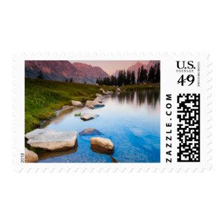 Lake Solitude Postage Stamp