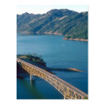 Lake Sonoma aerial photograph Post Cards