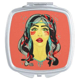 Lake Spirit Makeup Mirror
