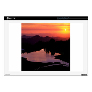 """Lake St Andrews At Sunset Decal For 17"""" Laptop"""