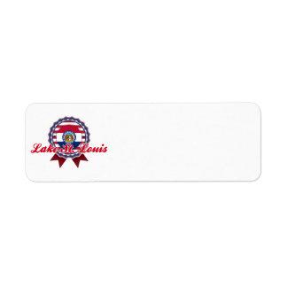 Lake St. Louis, MO Return Address Label