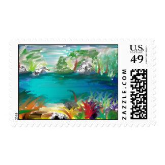 lake stamp