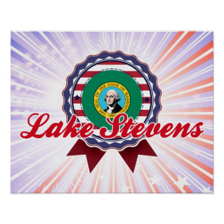 Lake Stevens, WA Print