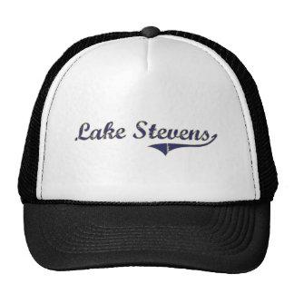 Lake Stevens Washington Classic Design Mesh Hat