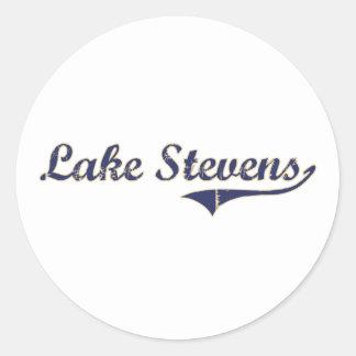 Lake Stevens Washington Classic Design Sticker