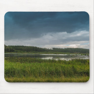 Lake storm mouse pad
