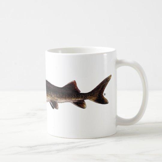 Lake Sturgeon - Acipenser fulvescens Coffee Mug
