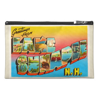 Lake Sunapee New Hampshire NH Old Travel Souvenir Travel Accessories Bags