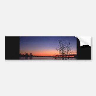 Lake Sunrise Bumper Sticker