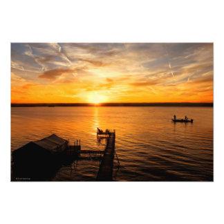 Lake Sunrise Photo Print