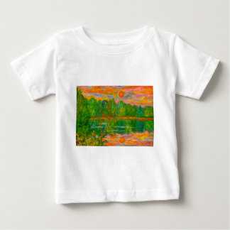 Lake Sunset Baby T-Shirt