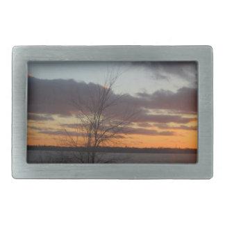 Lake Sunset Belt Buckle