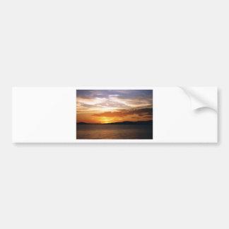 Lake Sunset Bumper Sticker