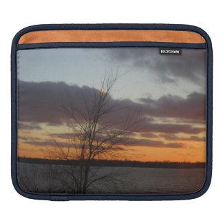 Lake Sunset iPad Sleeve