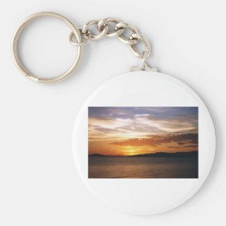 Lake Sunset Keychain