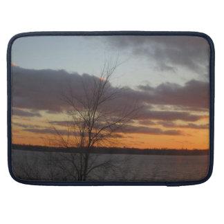 Lake Sunset Macbook Pro Sleeve