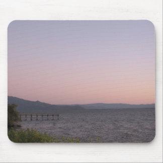 Lake Sunset Mouse Pad