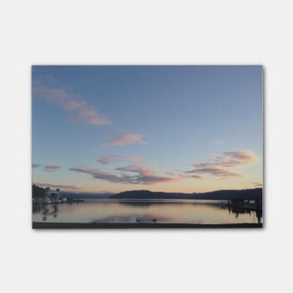 Lake Sunset Post-it Notes