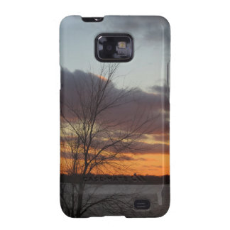 Lake Sunset Samsung Galaxy S II Case Samsung Galaxy S2 Covers