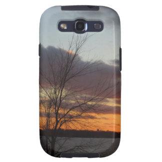 Lake Sunset Samsung Galaxy S III Case Samsung Galaxy SIII Cases