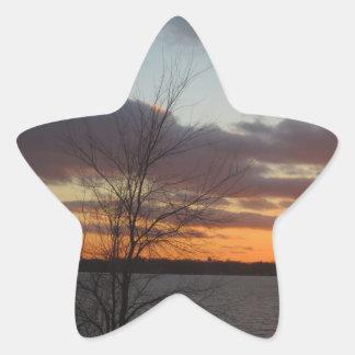 Lake Sunset Stickers - Set of 20