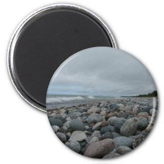 Lake Superior 2 Inch Round Magnet