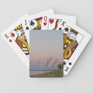 Lake Superior at Sunset Playing Cards