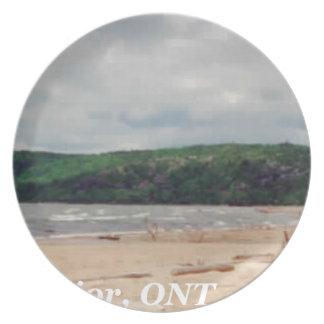 Lake Superior Beach Plate