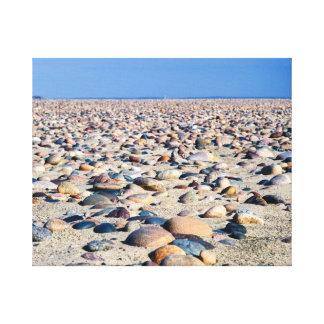 Lake Superior Beach Stones Canvas Print