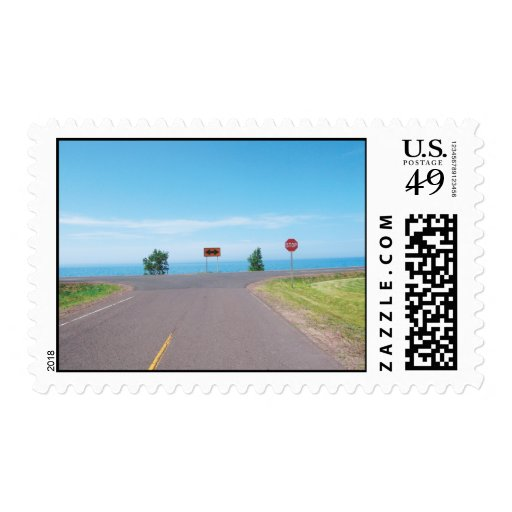Lake Superior Boundary Road Postage
