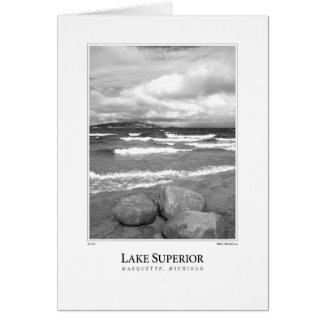 Lake Superior Card
