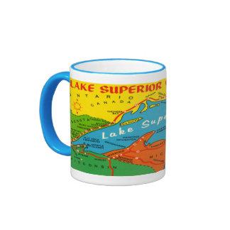 Lake Superior Circle Route Mug