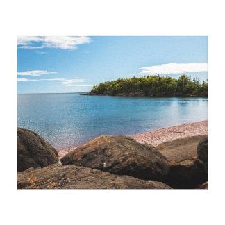 Lake Superior Coastline Canvas Print